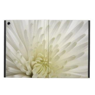 White Chrysanthemum iPad Air Cases