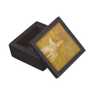 White Church,Gift Box Premium Jewelry Box