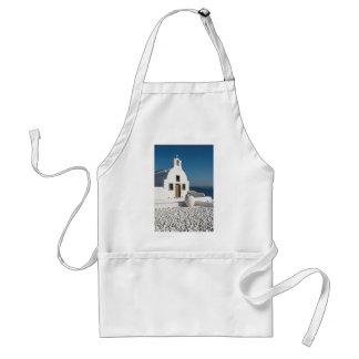 White Church, Oia, Santorini Adult Apron