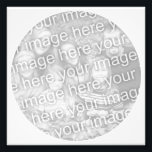"White Circle Frame Photo<br><div class=""desc"">Print your photo with a white circular border. Choose &quot;customize it&quot; if you need to reposition photo.</div>"