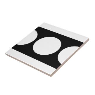 White Circles on Black