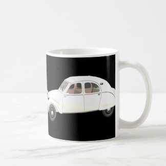 White Citroen 2CV Mug