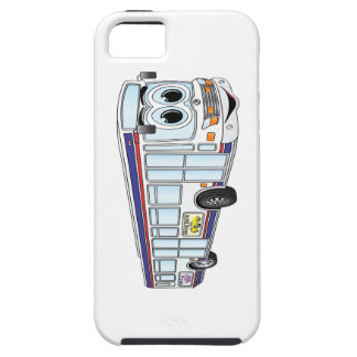White City Bus Cartoon iPhone SE/5/5s Case