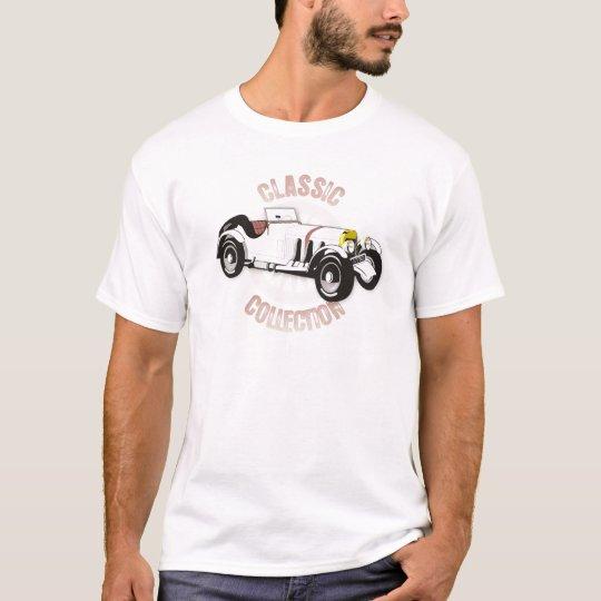 White classic racing car T-Shirt