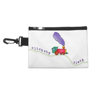 White Clickety Clack Train Accessory Bag