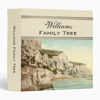 White Cliffs of Dover, England Family Tree Binder