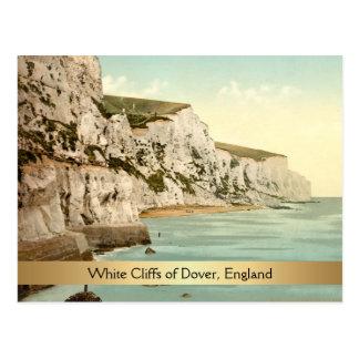 White Cliffs of Dover, Kent, England Postcard
