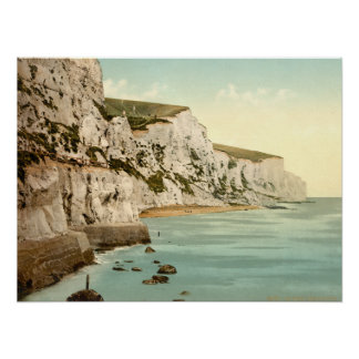 White Cliffs of Dover, Kent, England Poster