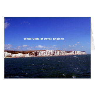 White Cliffs of Dover, United Kingdom Greeting Card