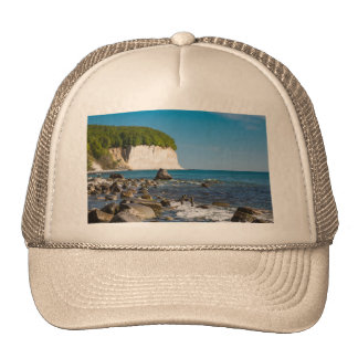 White cliffs on shore of the Baltic Sea Trucker Hat