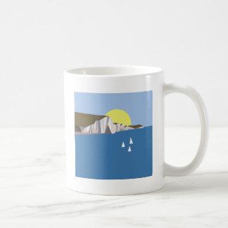 White Cliffs Summer Coffee Mug