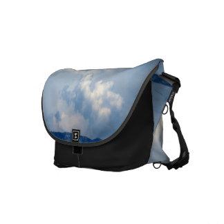 White Cloud 10 Messenger Bag