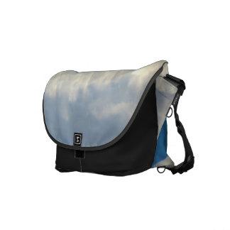 White Cloud 11 Messenger Bags