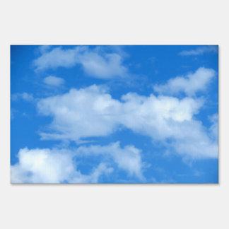 White Cloud 12 Lawn Signs