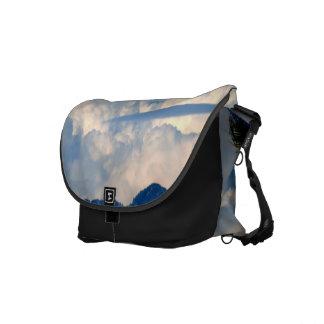 White Cloud 14 Courier Bag