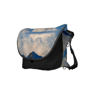 White Cloud 15 Messenger Bag