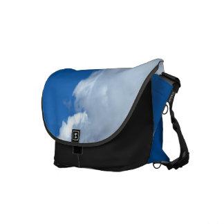 White Cloud 17 Messenger Bags