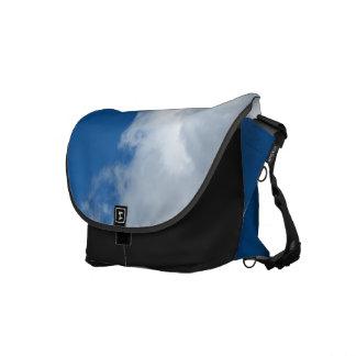 White Cloud 18 Messenger Bag