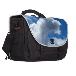 White Cloud 19 Laptop Messenger Bag