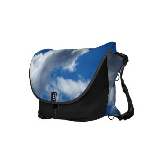 White Cloud 19 Messenger Bag