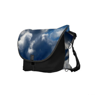 White Cloud 21 Courier Bags