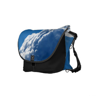 White Cloud 22 Messenger Bags