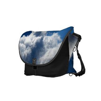White Cloud 23 Messenger Bag