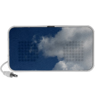 White Cloud 26 Mp3 Speakers