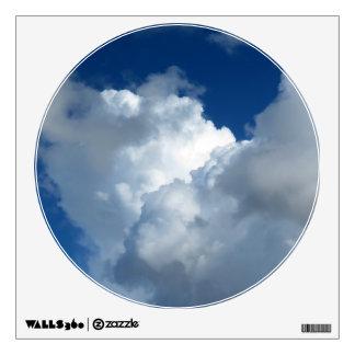 White Cloud 33 Wall Sticker