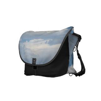 White Cloud 3 Courier Bag