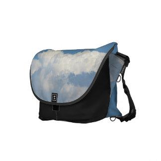 White Cloud 4 Messenger Bags