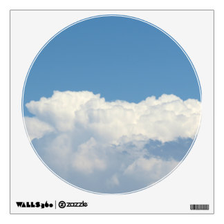 White Cloud 4 Wall Decal