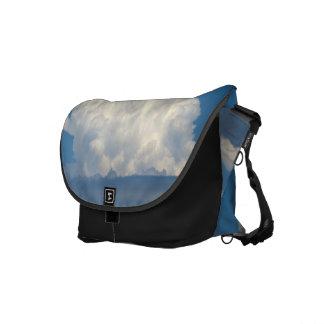 White Cloud 6 Messenger Bag