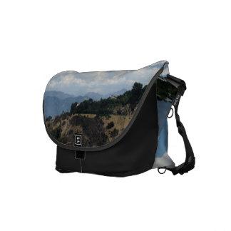 White Cloud 8 Courier Bag