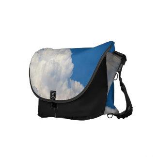 White Cloud 9 Messenger Bags