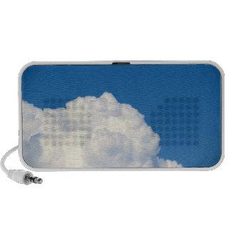 White Cloud 9 Laptop Speakers