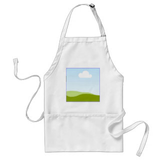 White Cloud - Single View in iTunes Adult Apron