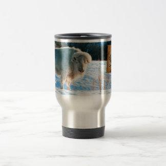 White Cloud Travel Community Mug. Travel Mug