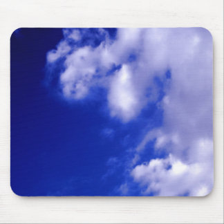 White Clouds & Blue Sky Mouse Pad