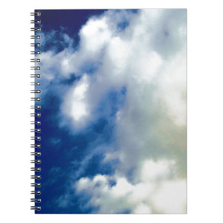 White Clouds & Blue Sky Notebook