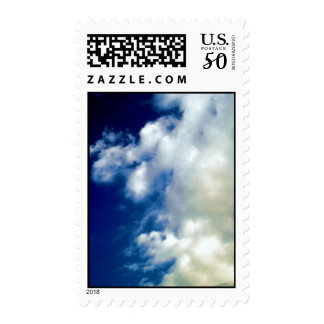 White Clouds & Blue Sky Postage