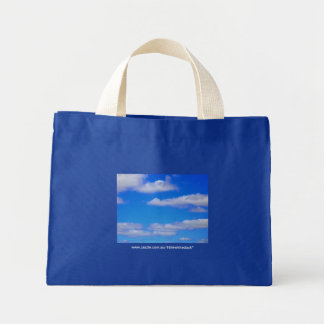 White Clouds, Blue Sky - Tote Bag