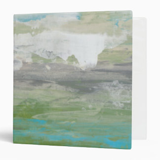 White Clouds Overlooking Beautiful Landscape Binder