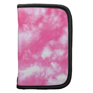White Clouds Pink Sky Folio Planner