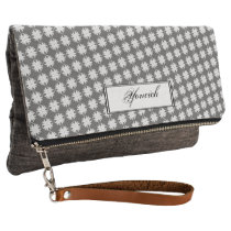 White Clover Ribbon by Kenneth Yoncich Clutch