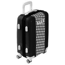 White Clover Ribbon by Kenneth Yoncich Luggage