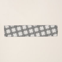White Clover Ribbon by Kenneth Yoncich Scarf
