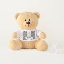White Clover Ribbon by Kenneth Yoncich Teddy Bear