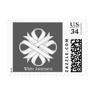 White Clover Ribbon Postage Stamp