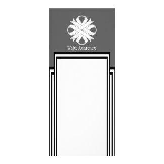 White Clover Ribbon Rack Card